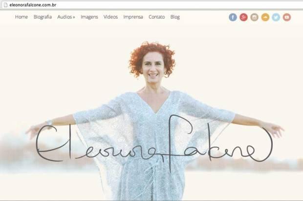 Projeto editorial e SEO site Eleonora Falcone. Design Ariel Nunes.