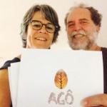 Roberta Guimarães e o curador Raul Lody.