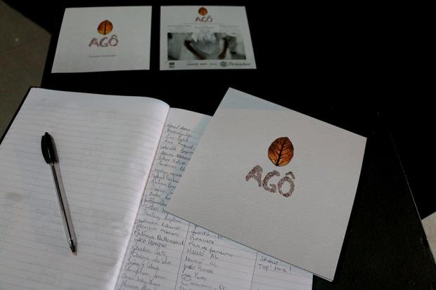 A exposição Agô, de Roberta Guimarães obteve 8 mil assinaturas.