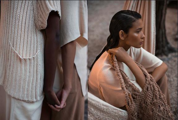 Juliana Gevaerd com linha Bio produzida com algodão colorido da Paraíba em parceria com Natural Cotton Color